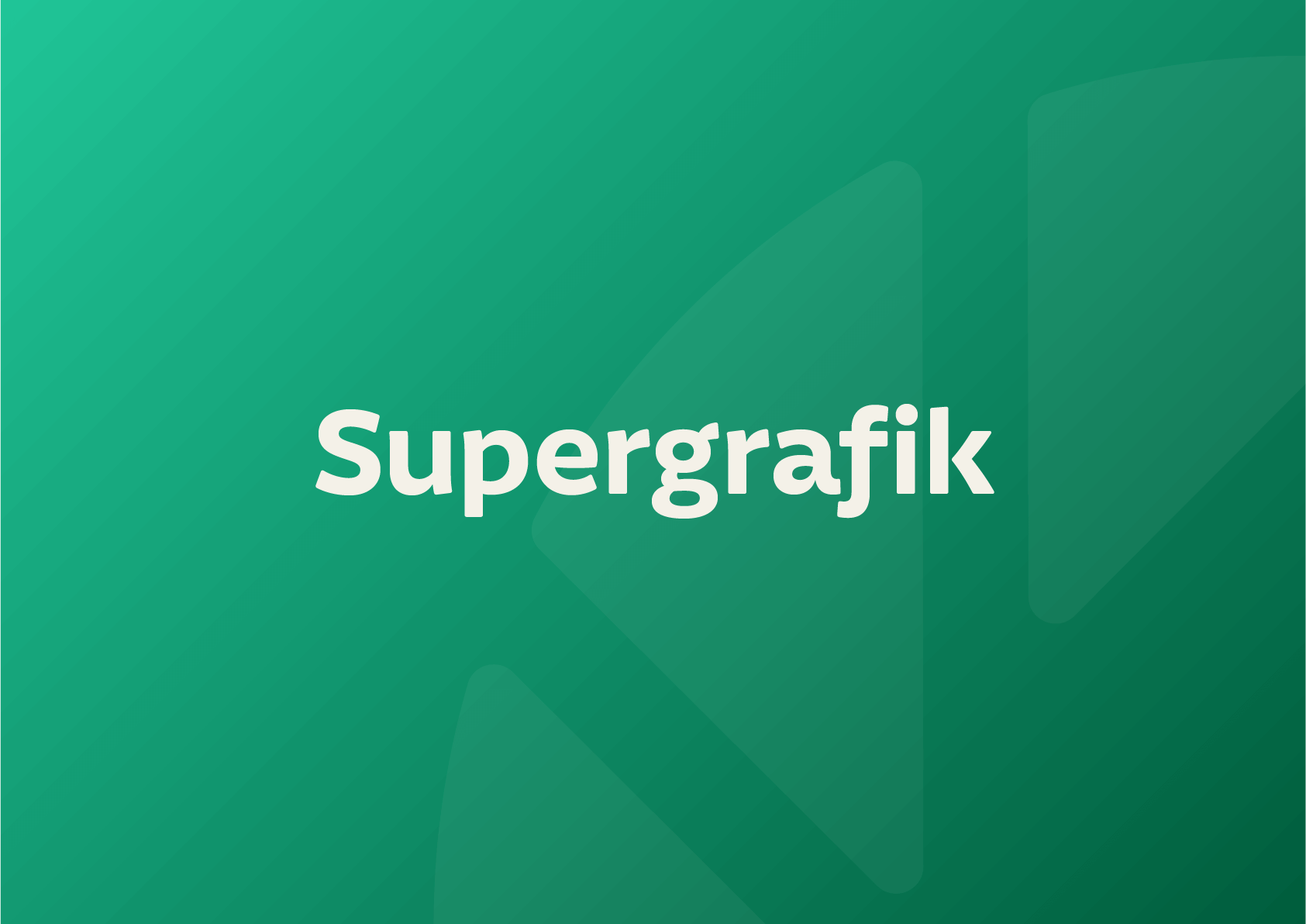 illustrationsstil supergrafik